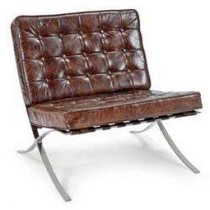 Cigar Leather Soho chair