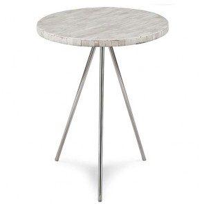 Bone Veneer tripod table