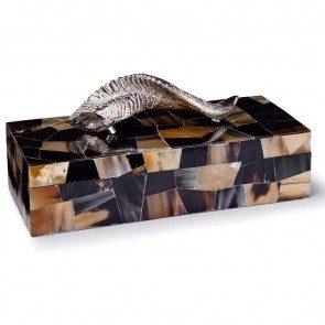 Polished Horn box - large