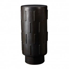 Black thread bar stool
