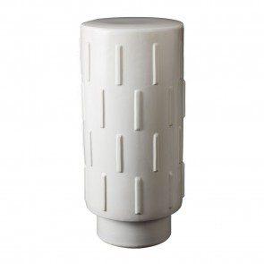 White thread bar stool