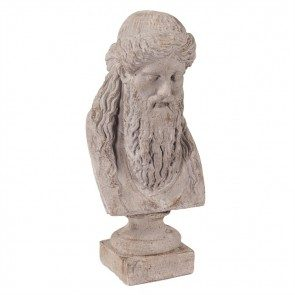 Ancient Greek Philosopher Bust