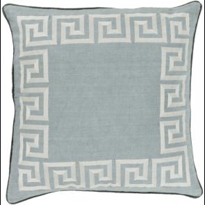 linen pillows, greek key, Beth lacefield