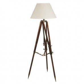 Campaign Tripod Lamp
