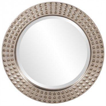 Studded Mirror Round